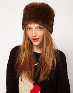 Faux fur hat 2