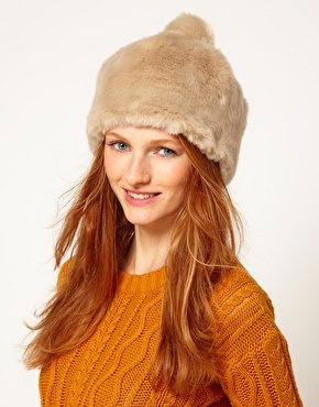 Faux fur hat 3