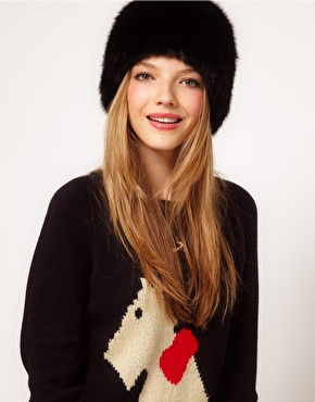 Faux fur hat 4