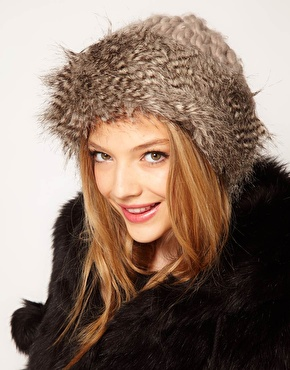 Faux fur hat 5