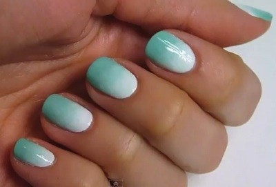 Ombre nails1