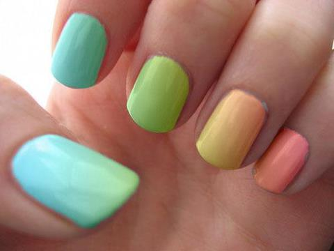 Ombre nails7