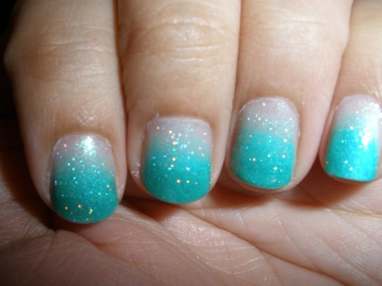 Ombre nails9