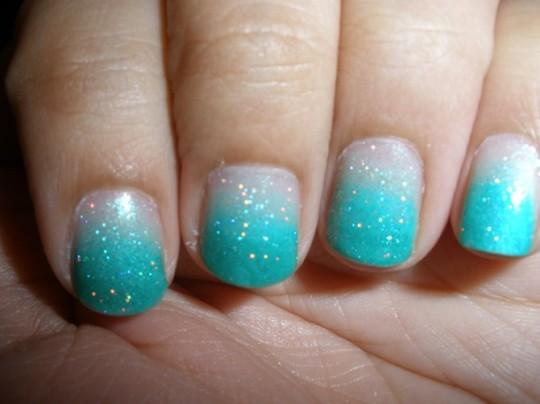 Ombre nails9