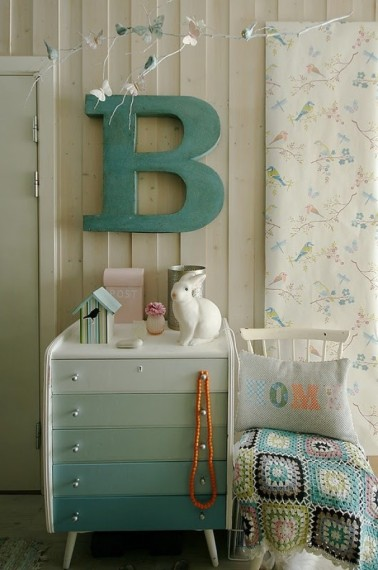 Letter decoratie 10