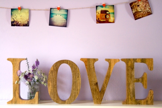 Letter decoratie 4