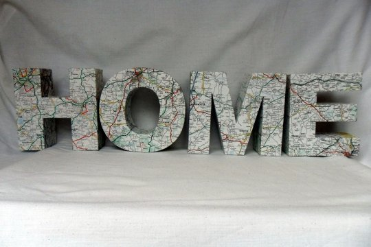 Letter decoratie 5