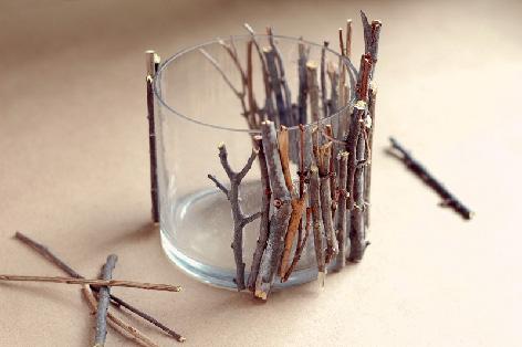 waxinelichthouderhout