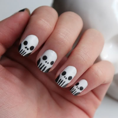 halloweennails