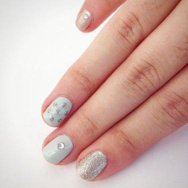 silvernailart